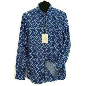 Ted Baker Geo Print Shirt 4 Floral Button Down